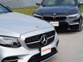 Mercedes-Benz E43 vs BMW M550i-14