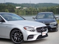 Mercedes-Benz E43 vs BMW M550i-15