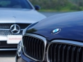 Mercedes-Benz E43 vs BMW M550i-36