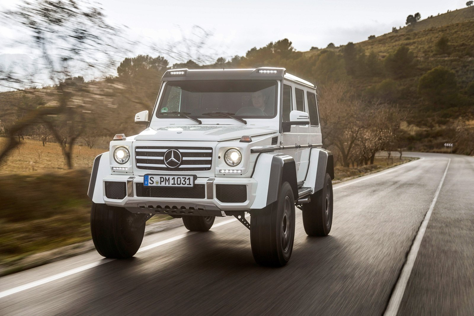 this mercedes suv will dominate any jeep autoguide com news