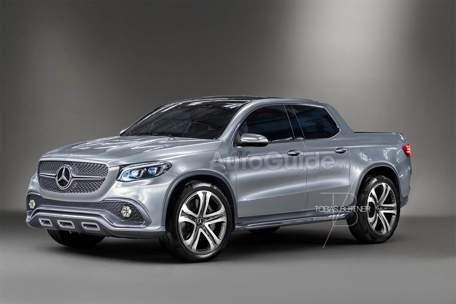 Here 39 s what the mercedes benz glt pickup truck could look for Mercedes benz pickup truck