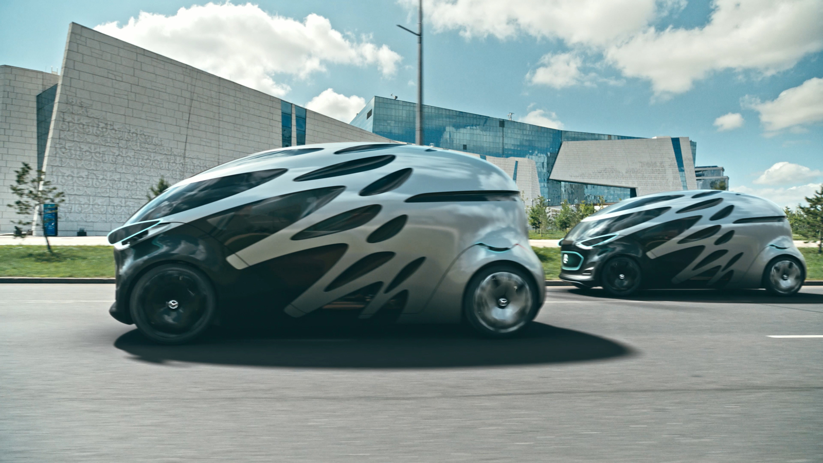 Weird Mercedes Blob Concept Has Us Scared For The Future