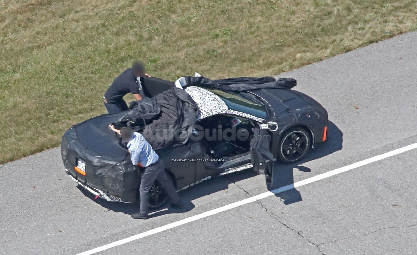 2019 Mid-Engine Corvette Resurfaces as Plant Shuts Down for Upgrades