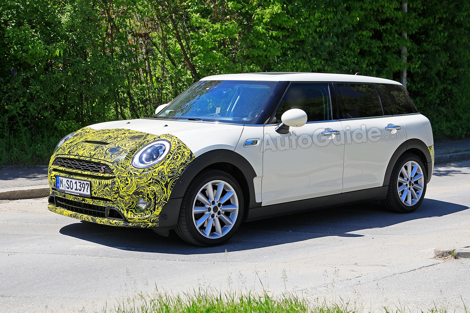 Mini Clubman Facelift Breaks Cover In New Spy Photos Autoguidecom