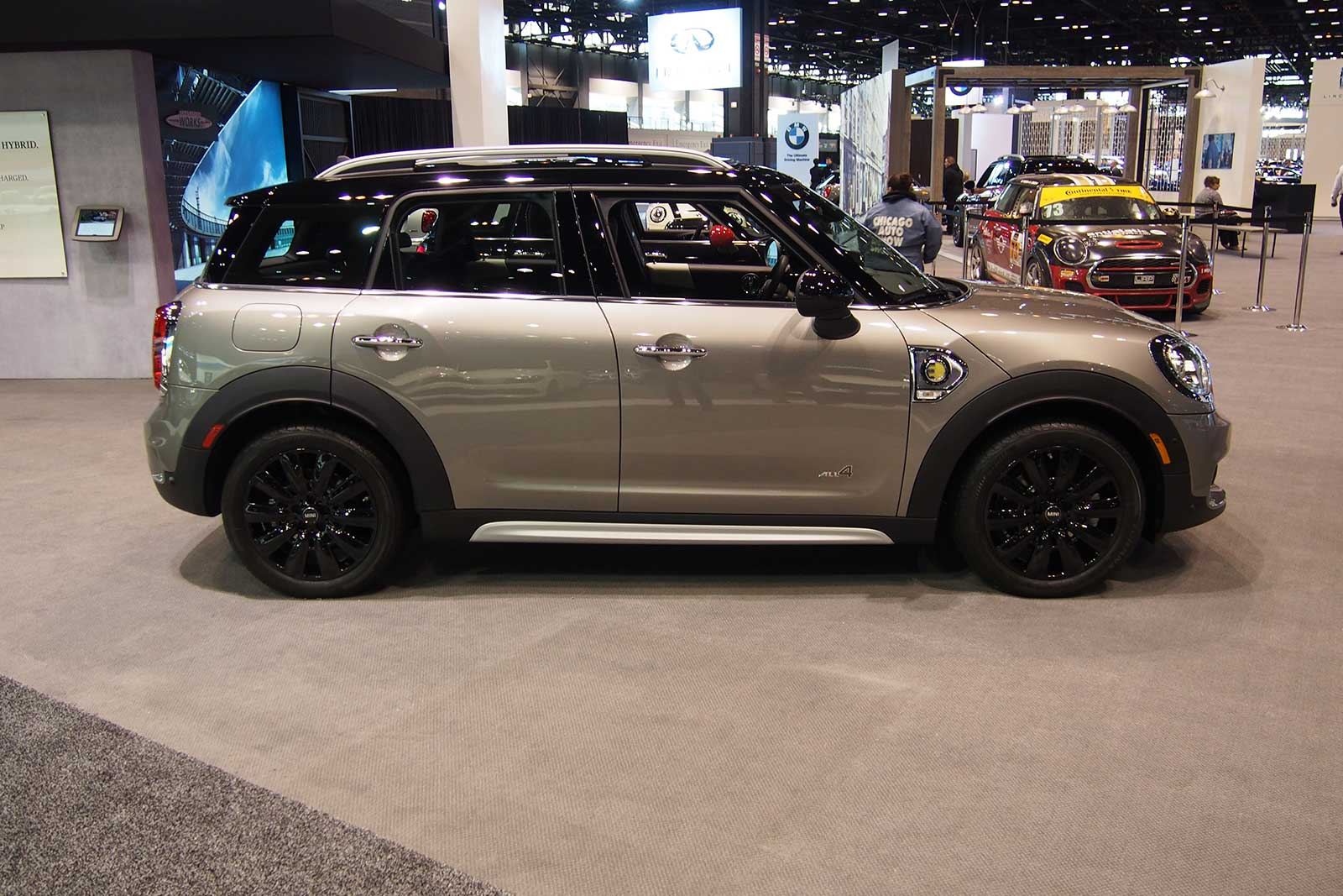 Mini S Largest Model Ever Is Also Its First Plug In Hybrid