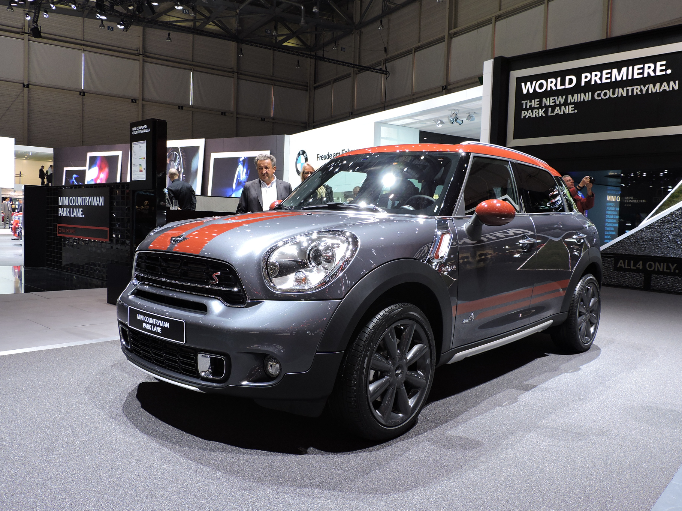 mini countryman park lane adds a touch of class