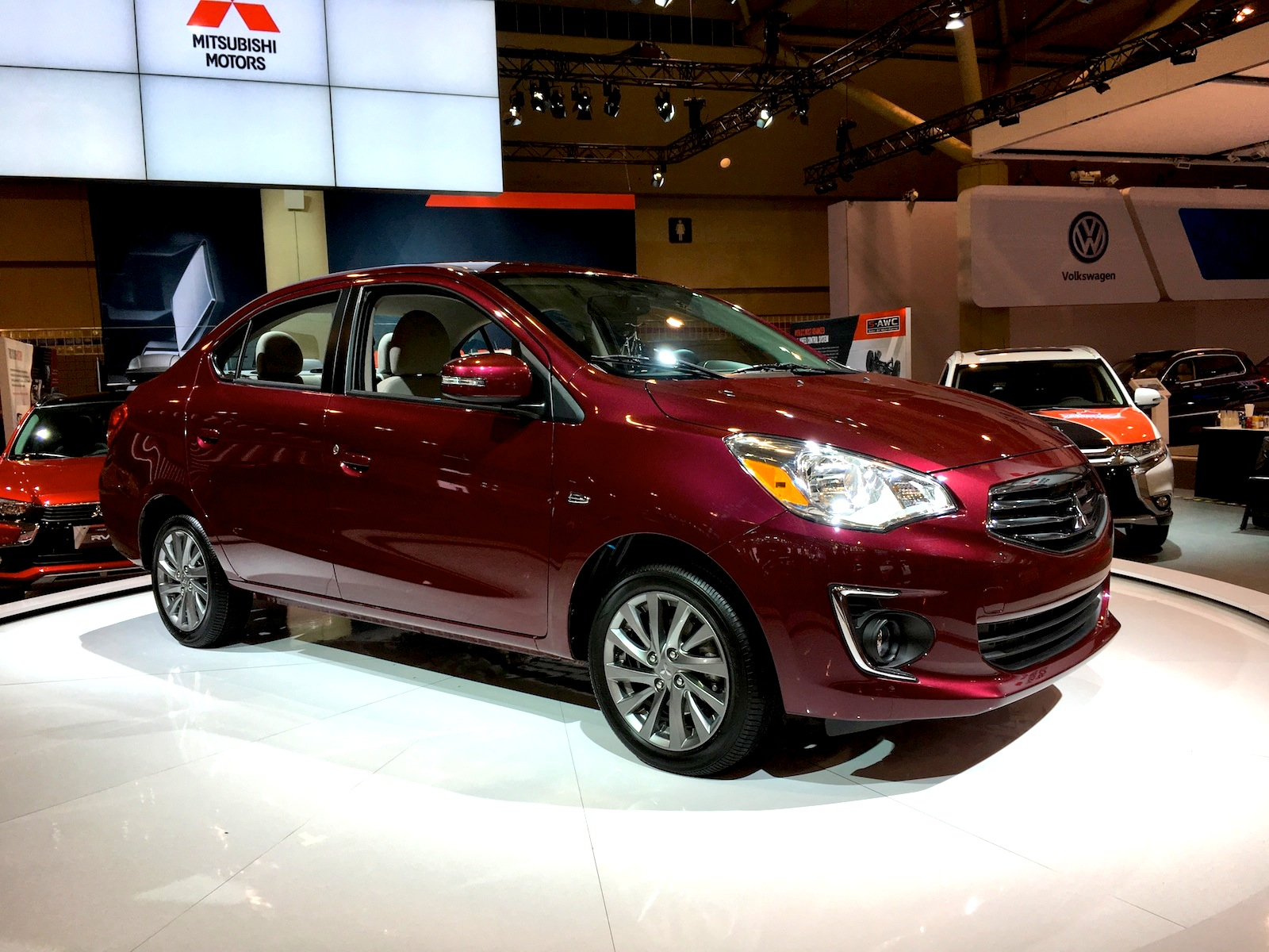 2017 Mitsubishi Mirage G4 Sedan Revealed » AutoGuide.com News