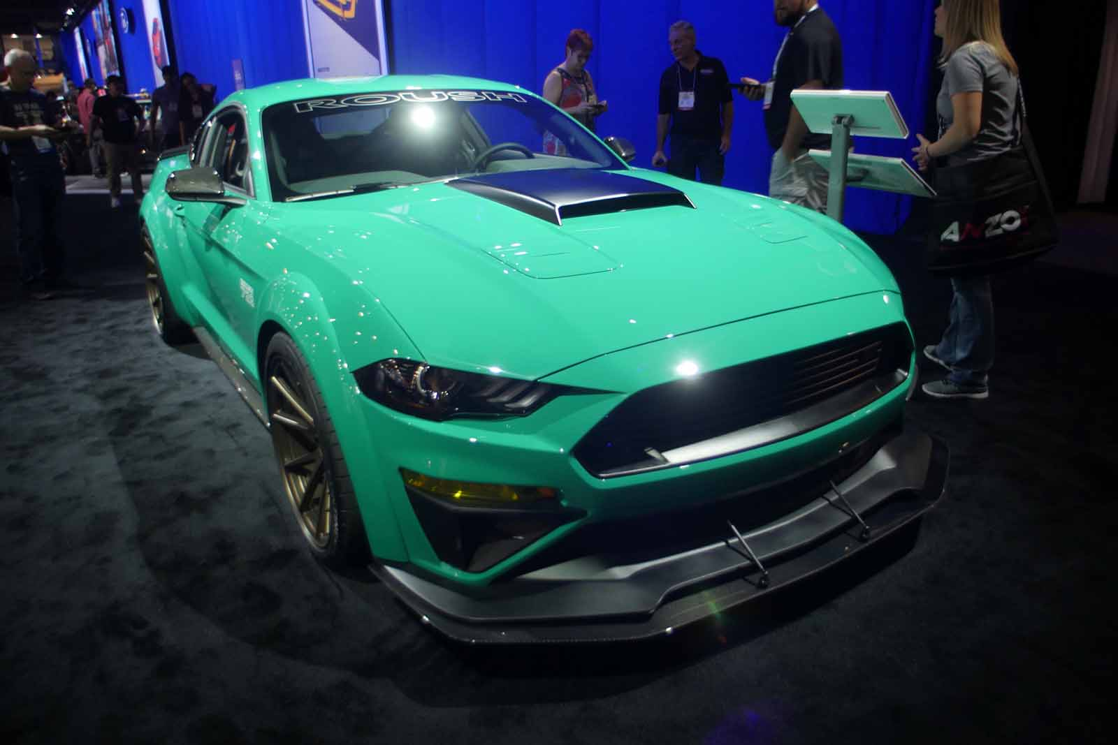 gallery modified ford mustangs charge into sema 2017 news. Black Bedroom Furniture Sets. Home Design Ideas