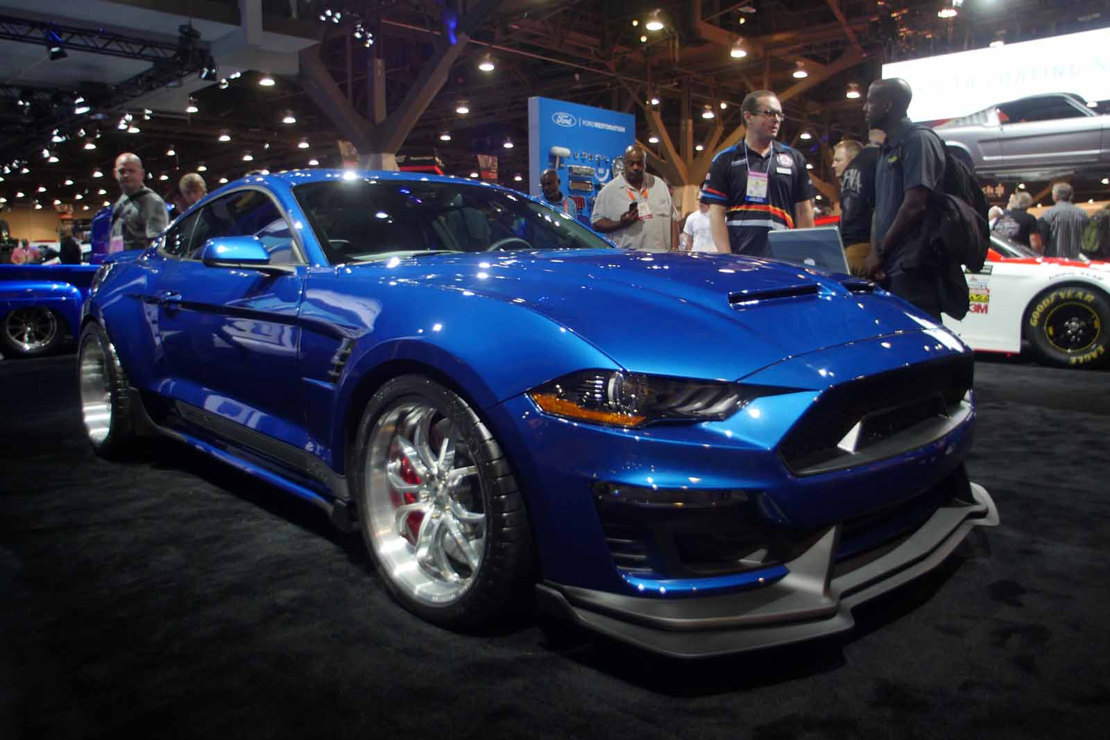 sema ford mustang auto express. Black Bedroom Furniture Sets. Home Design Ideas