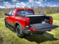 Factory features of the Mopar '16 include a spray-on bedliner and a tri-fold tonneau cover emblazoned with the Ram logo.
