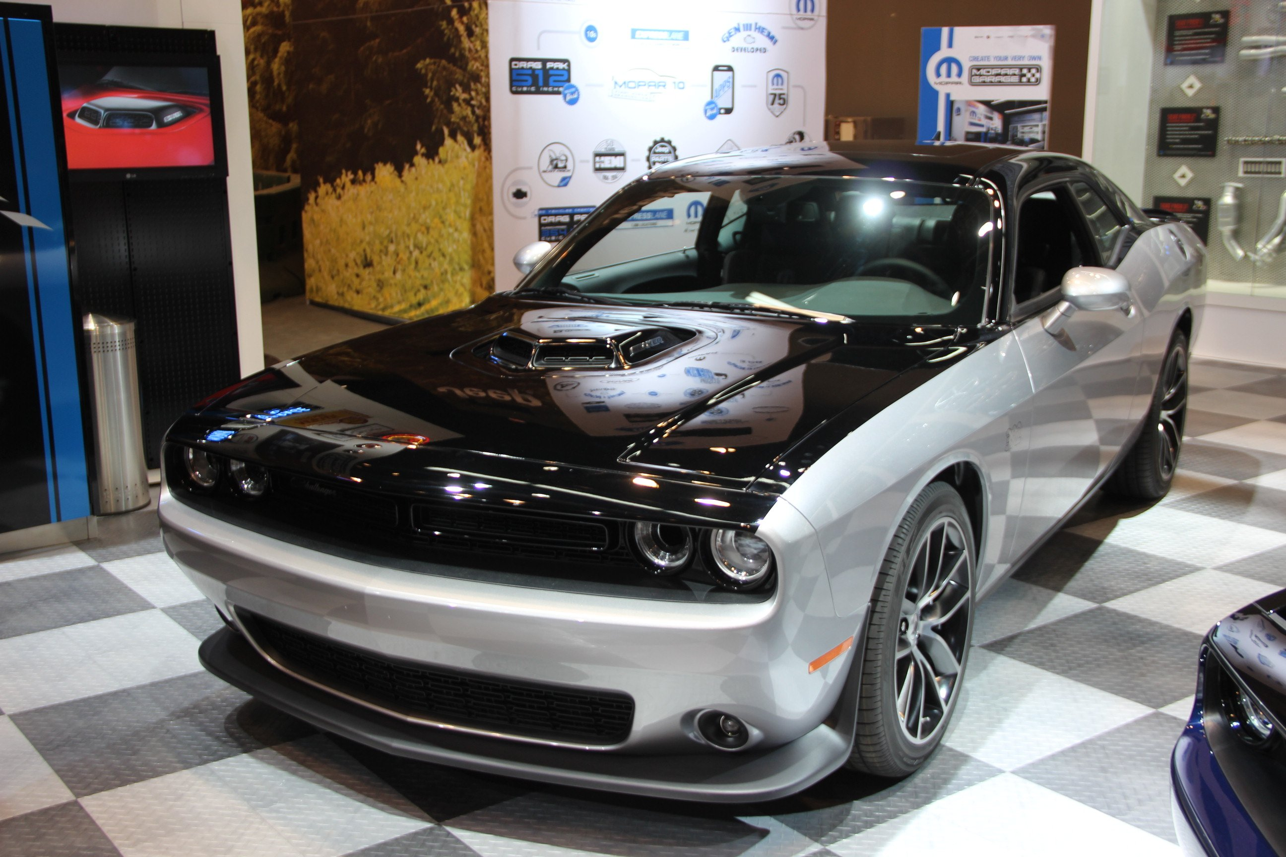 Dodge Ram Black Edition 2017 >> Mopar '17 Dodge Challenger is a Limited-Edition 80th Birthday Celebration » AutoGuide.com News