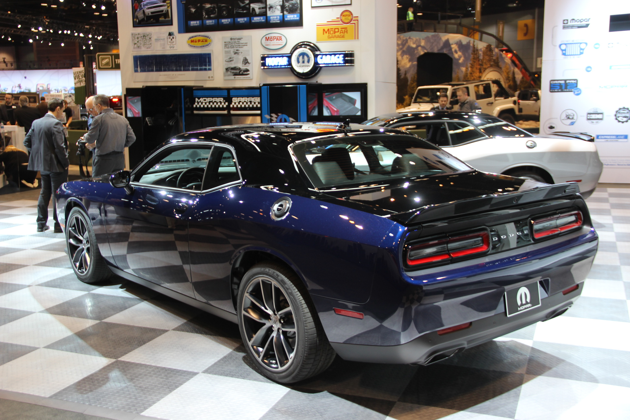 Mopar 17 Dodge Challenger is a Limited Edition 80th Birthday