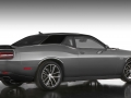 The Mopar '17 Dodge Challenger in Pitch Black/Billet Silver offers a more high-impact, high-contrast exterior color. The inherent bodylines of the Dodge Challenger are used to transition from Pitch Black to Billet Silver, providing a seamless segue point.