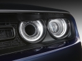 The Mopar cold air intake of the Mopar '17 delivers a performance boost and is aided by an air catcher duct system via the headlamp. The upgrade, inspired by the Dodge Challenger SRT Hellcat, feeds additional cold air into the vehicle.