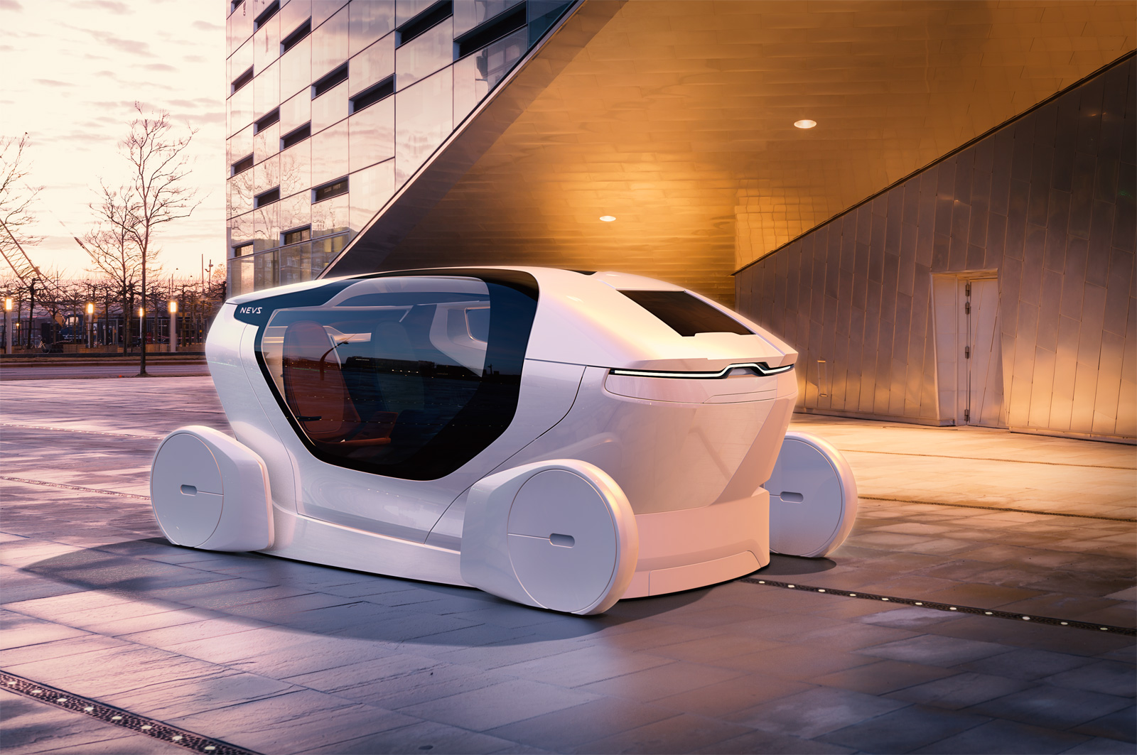 Another Wild Self Driving Car Concept Debuts 187 Autoguide