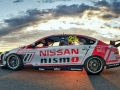 PHILLIP ISLAND, Australia (Jan. 28, 2016) – Nissan has unveiled its 2016 Australian motorsport activities at the Phillip Island Grand Prix Circuit in Victoria today. The 2016 livery for Michael Caruso's #23 NISMO Nissan Altima V8 Supercar was revealed, carrying a variation of the global GT3 colors that the Altima carried in 2015. Also on track was the #1 Nissan GT-R NISMO GT3 that will aim to take back-to-back Bathurst 12 Hour victories for Nissan next week, with an Australian flag added to the now-familiar livery.