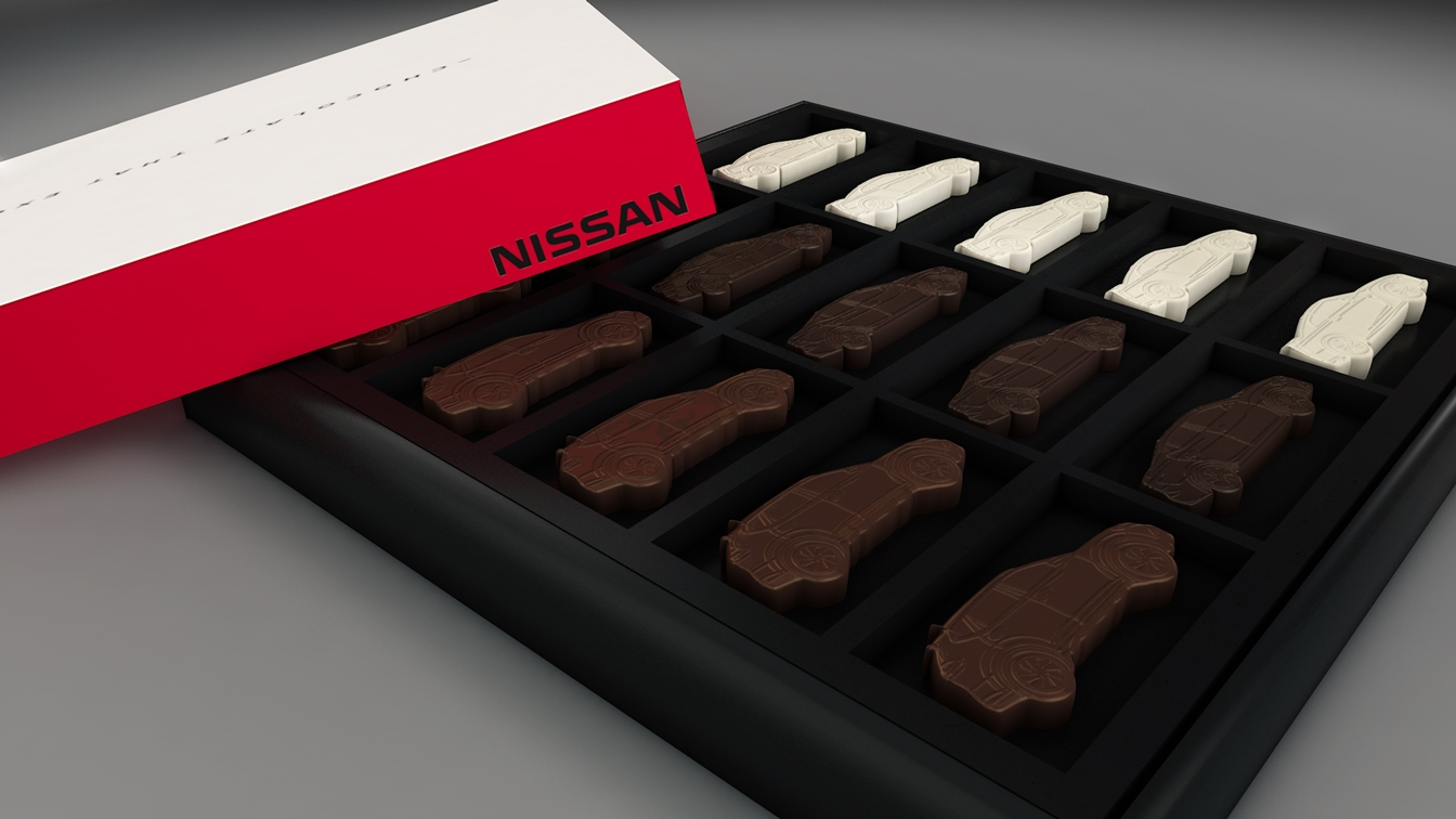 Win a Nissan-Themed Box of Chocolates for Mother's Day » AutoGuide ...