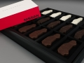 You can't buy this box of Nissan chocolates for your mom, but you can win one