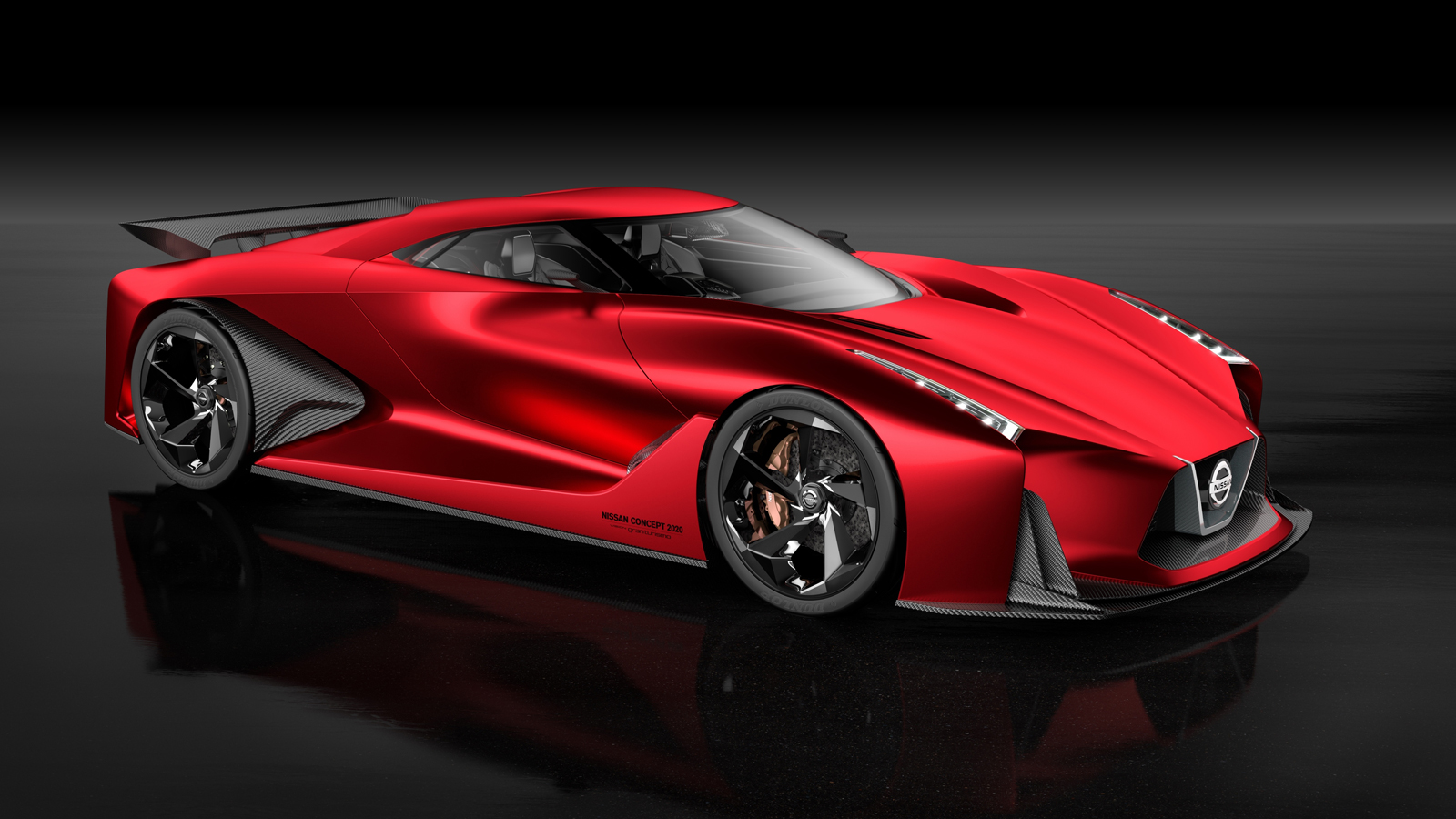 Nissan Concept 2020 Vision Gran Turismo Looks Better in Red