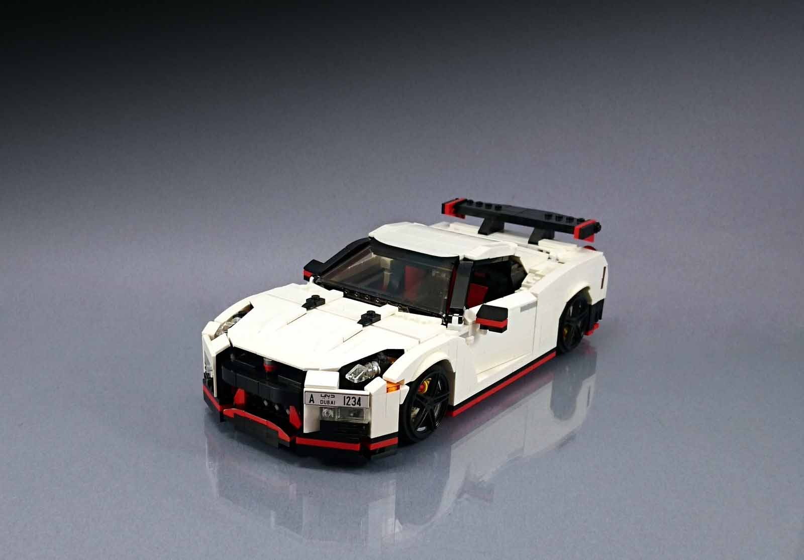 Lego Fan Builds Awesome Nissan GT-R Nismo Replica ...