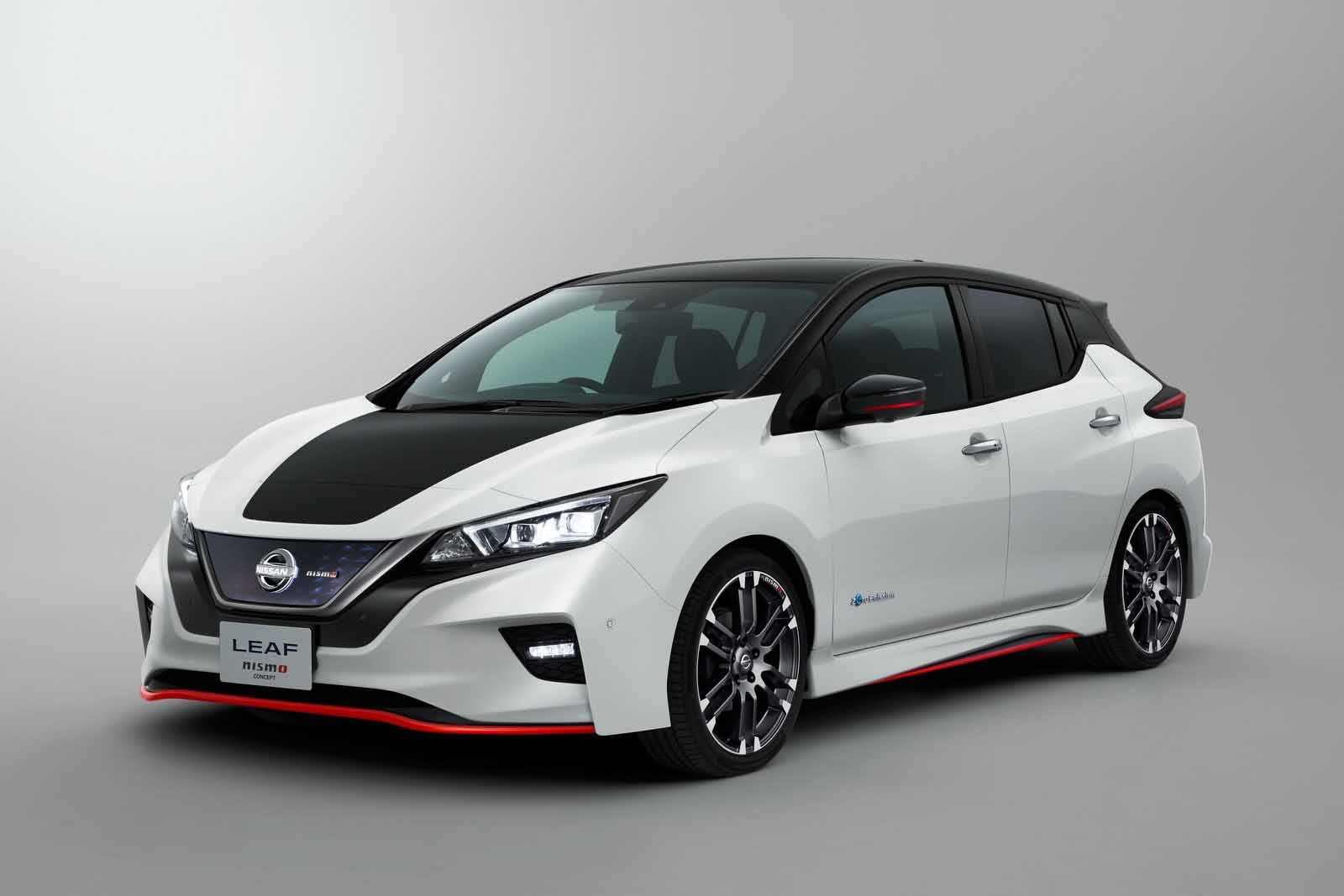 nissan leaf nismo concept brings all the fun none of the emissions news. Black Bedroom Furniture Sets. Home Design Ideas