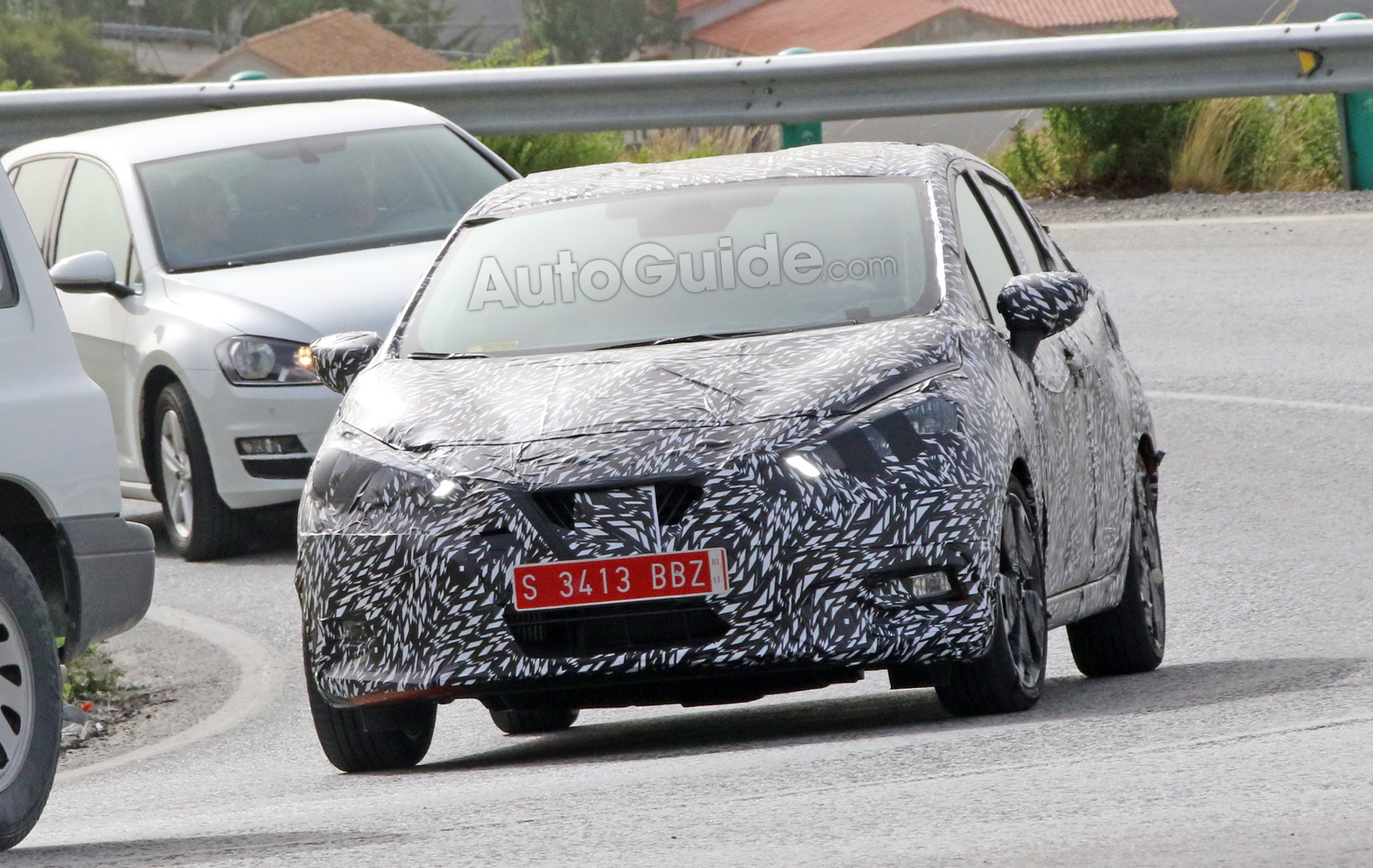 Nissan Micra Spied With Major Styling Change 187 Autoguide