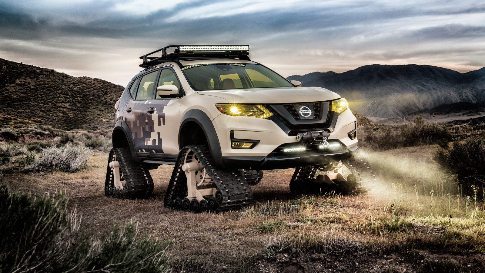 This Nissan Rogue On Tracks Was Built To Destroy Trails Autoguide