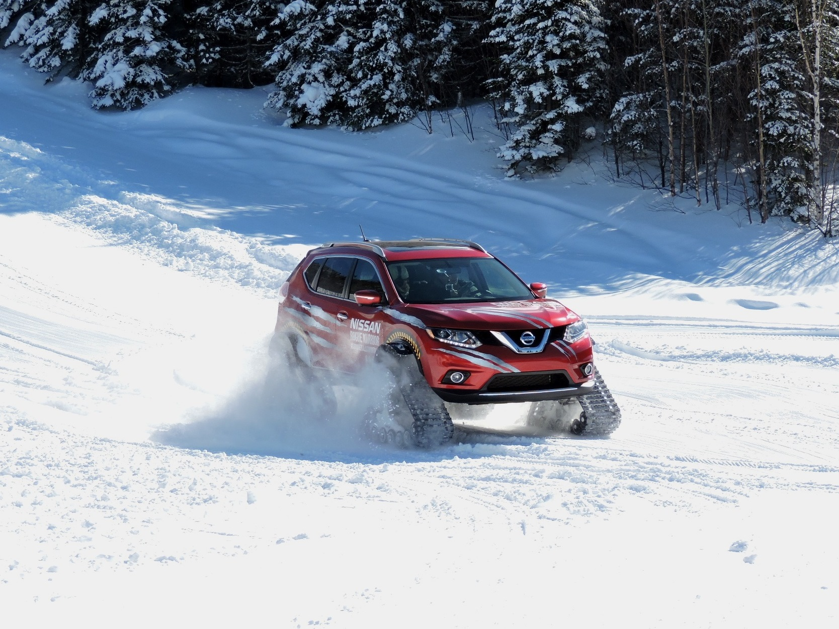 we drive the nissan rogue warrior the most badass cure for the winter blues news. Black Bedroom Furniture Sets. Home Design Ideas