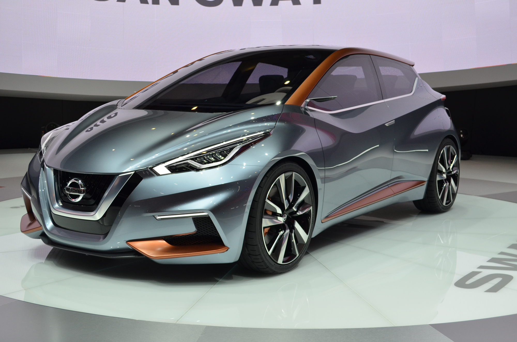 Nissan Sway Concept Previews Hatchbacks To Come