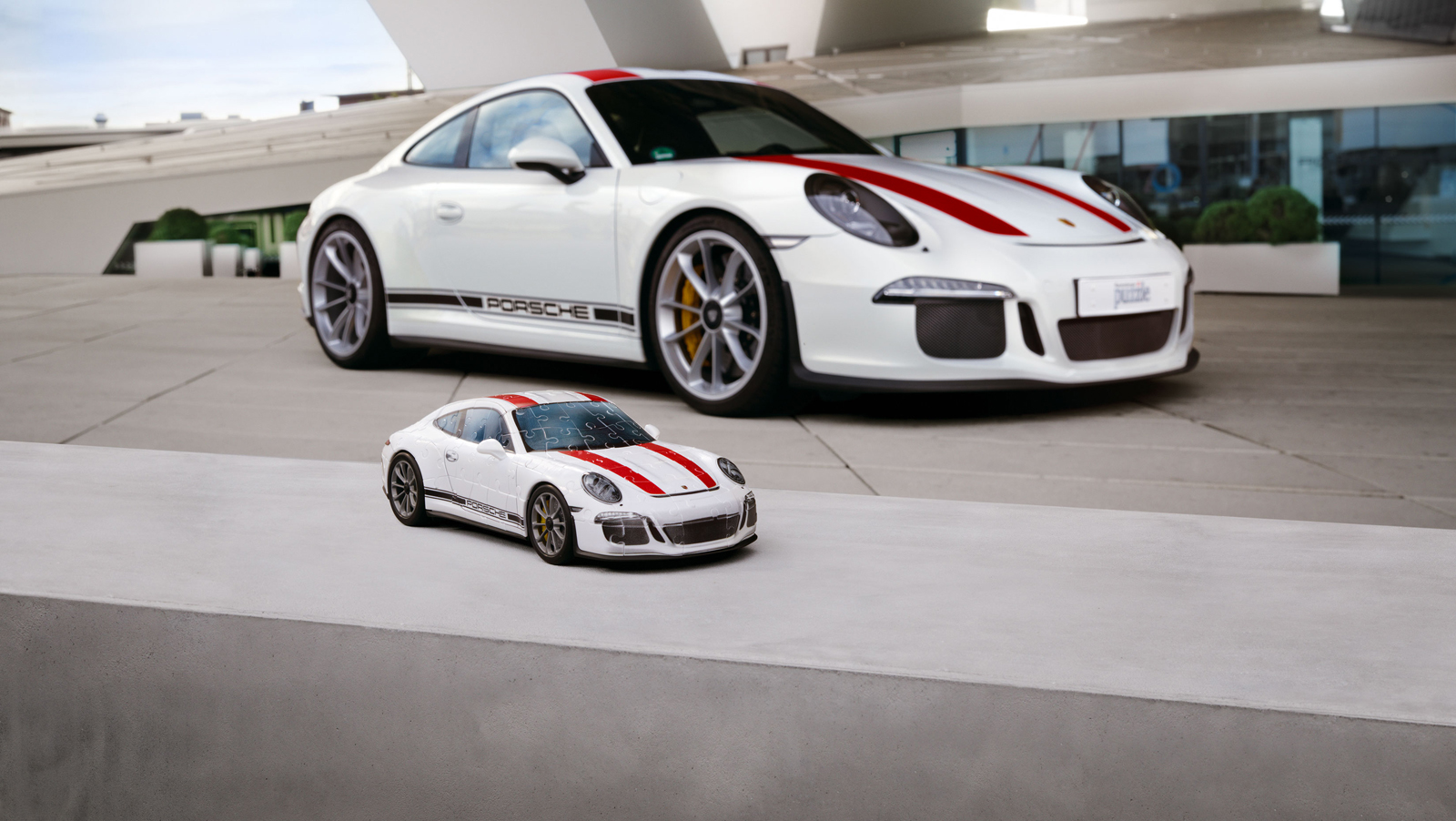you can now get a porsche 911 r 3d puzzle news. Black Bedroom Furniture Sets. Home Design Ideas