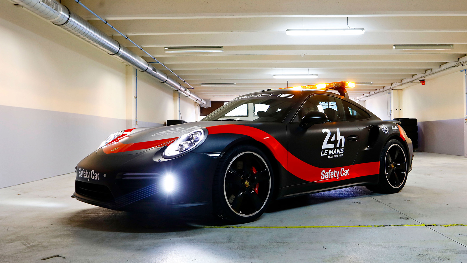 Porsche 911 Turbo Named Official Safety Car For WEC