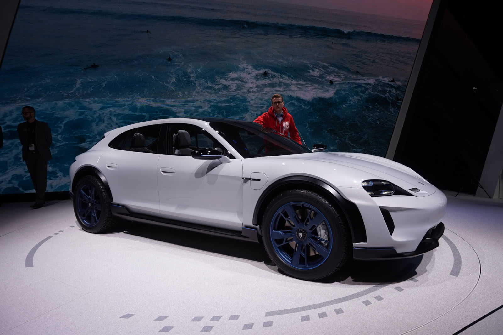 Porsche Turned The Mission E Into A Lifted Wagon With 600