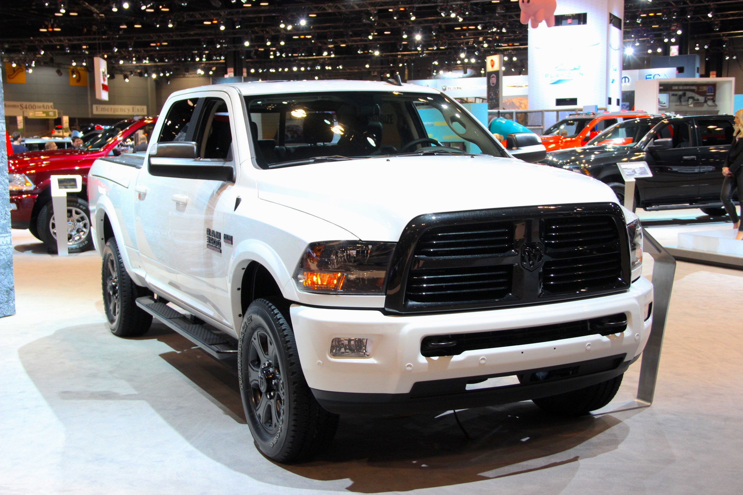 Dodge Ram Black Edition 2017 >> Ram Adds Fresh Special Editions with the 1500 Copper Sport, HD Midnight Editions » AutoGuide.com ...