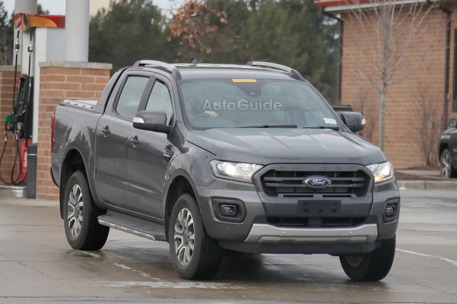 2019 Ford Ranger Wildtrak Spied Inside And Out 187 Autoguide