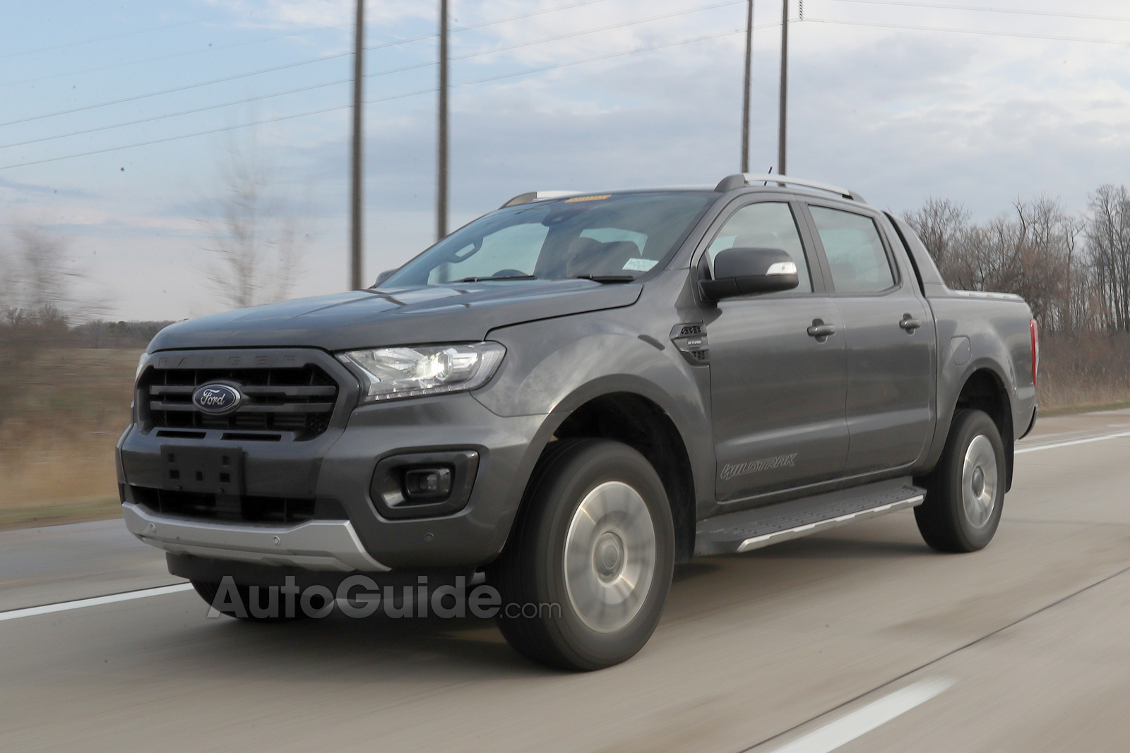 2019 Ford Ranger Wildtrak Spied Inside and Out AutoGuide News