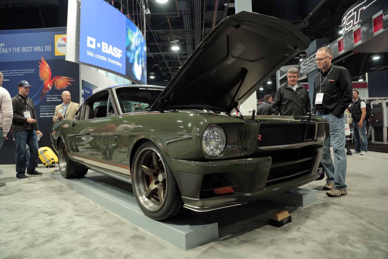 Ringbrothers 1965 Carbon Fiber Mustang Steals the Show in Las Vegas