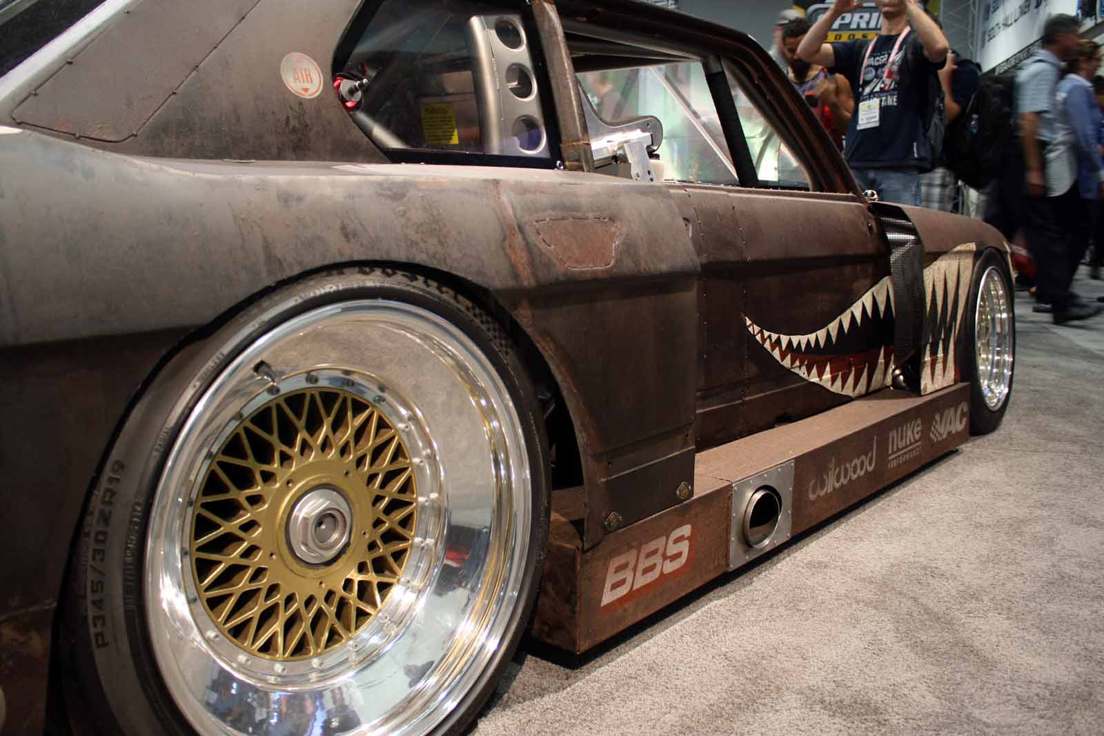 The Craziest Car of the SEMA Show is a Rusty Old BMW » AutoGuide.com ...