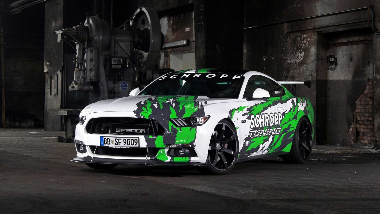 german tuners build an 807 hp hellcat fighting ford mustang news. Black Bedroom Furniture Sets. Home Design Ideas