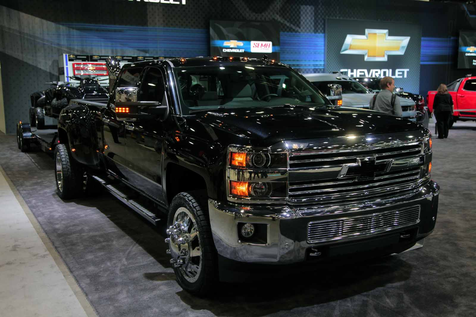 Chevrolet Silverado Concepts Bow at 2015 SEMA Show
