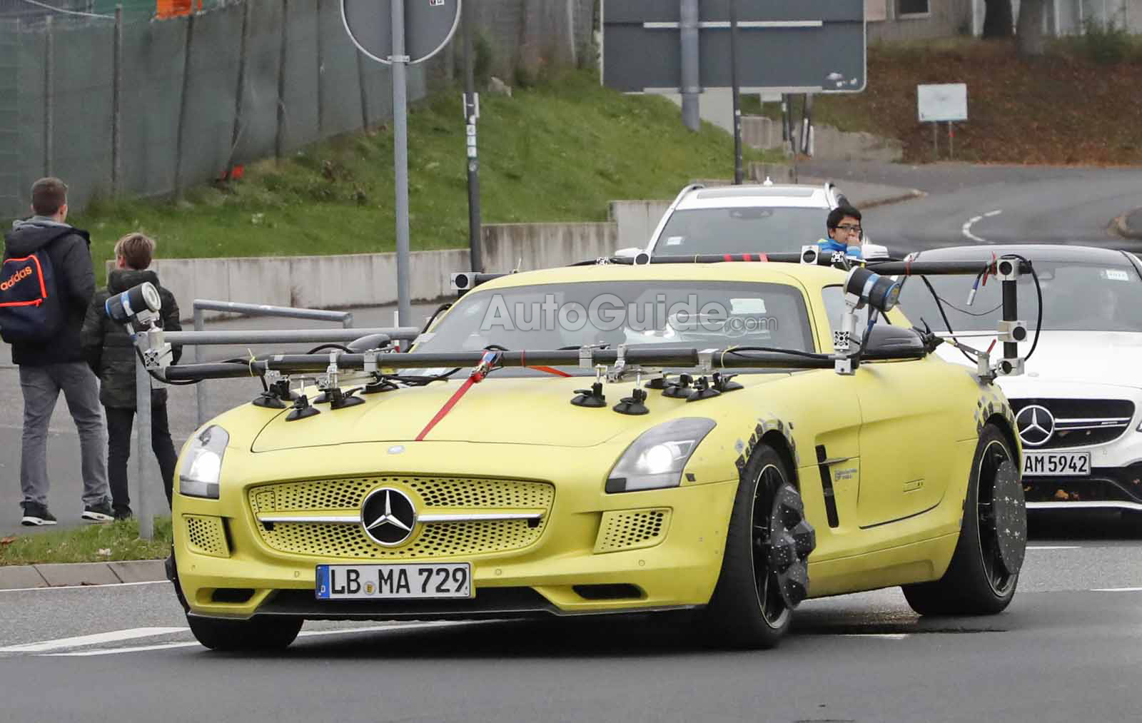 Benz Drift Car >> What Is Going on with this Electric Mercedes SLS AMG? » AutoGuide.com News