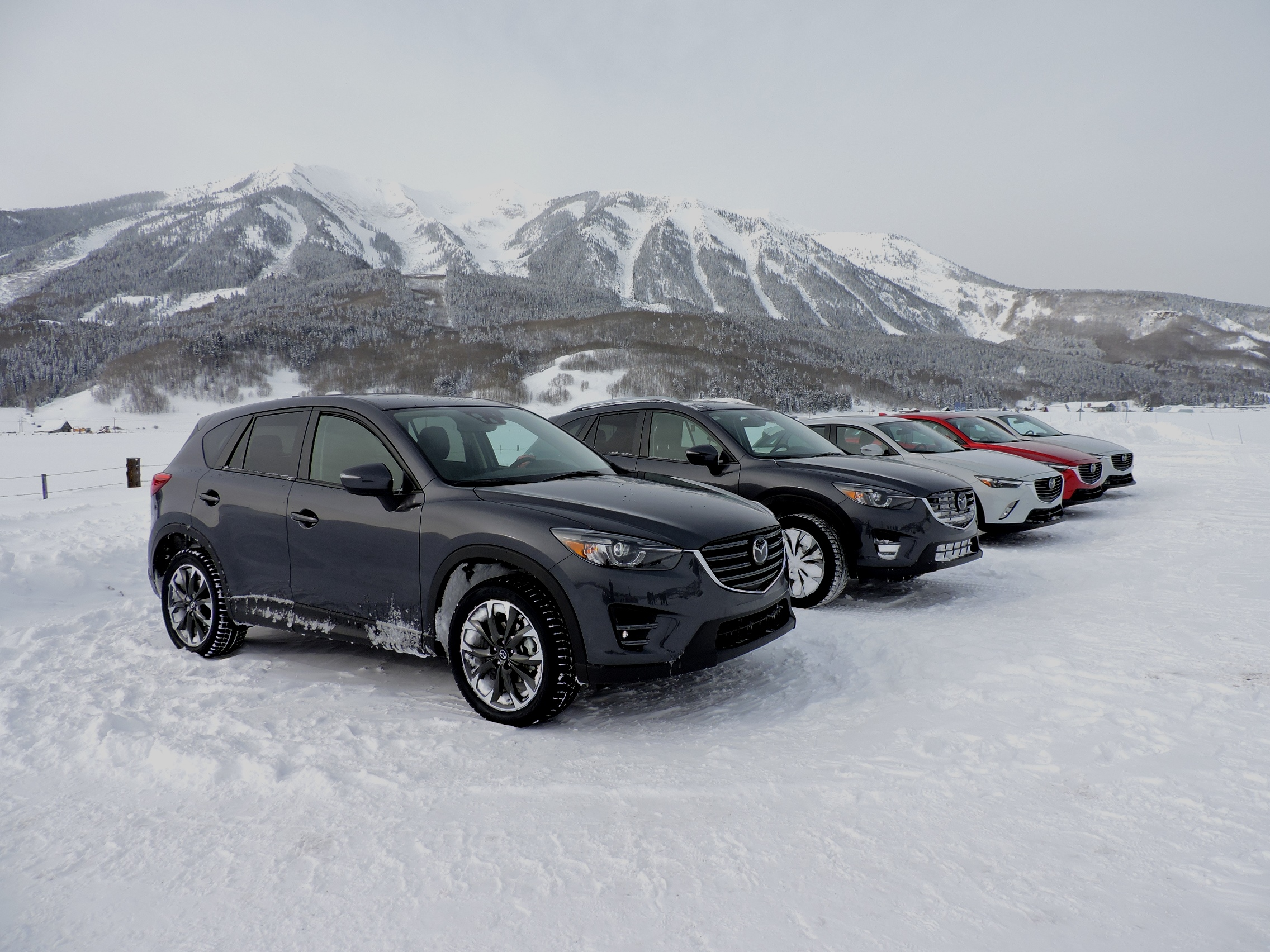 snow testing mazda s i activ all wheel drive news. Black Bedroom Furniture Sets. Home Design Ideas