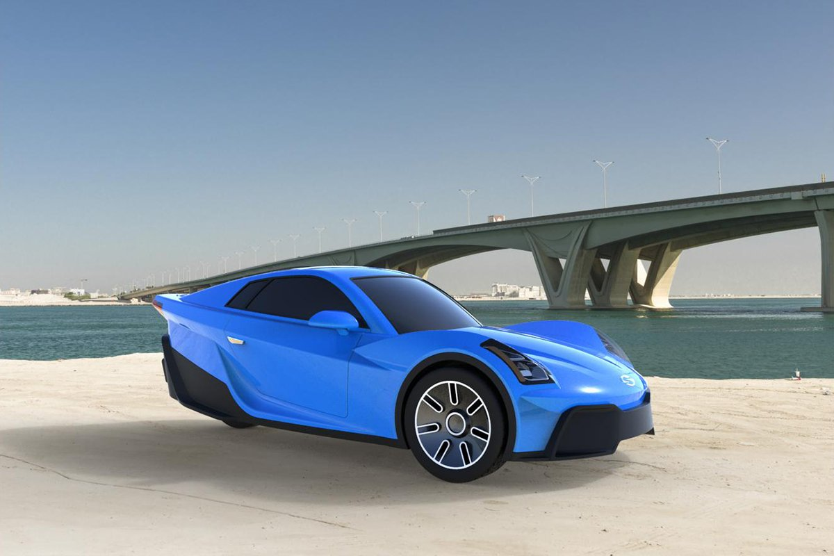 Ambitious Company Wants To Make This 3 Wheel Electric Car A Reality