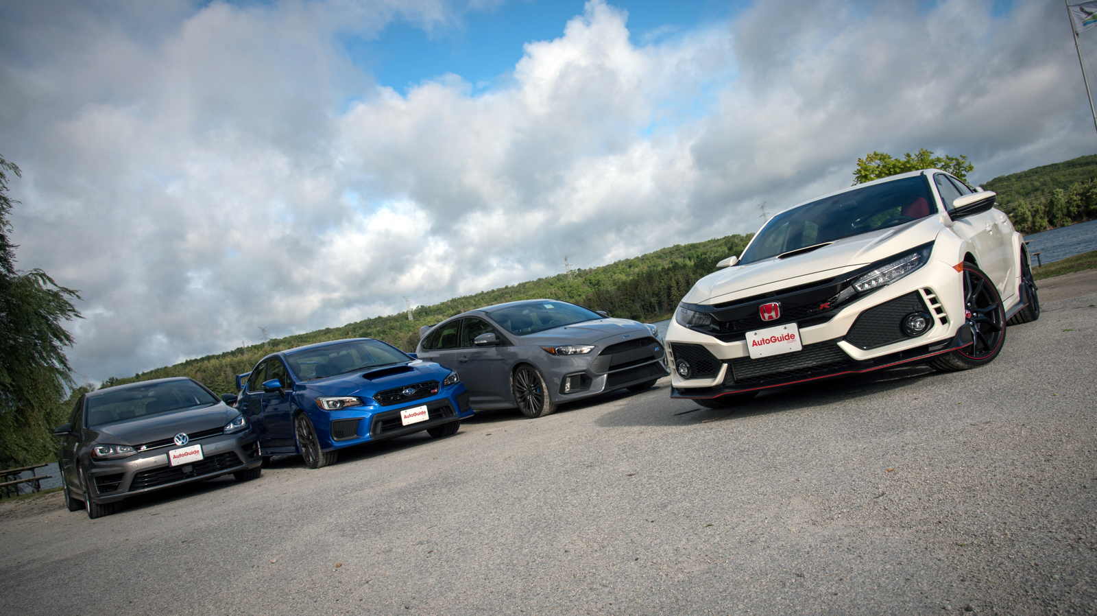 Honda Civic Type R Vs Subaru WRX STI Vs VW Golf R Vs Ford Focus RS: Sport  Compact Comparison