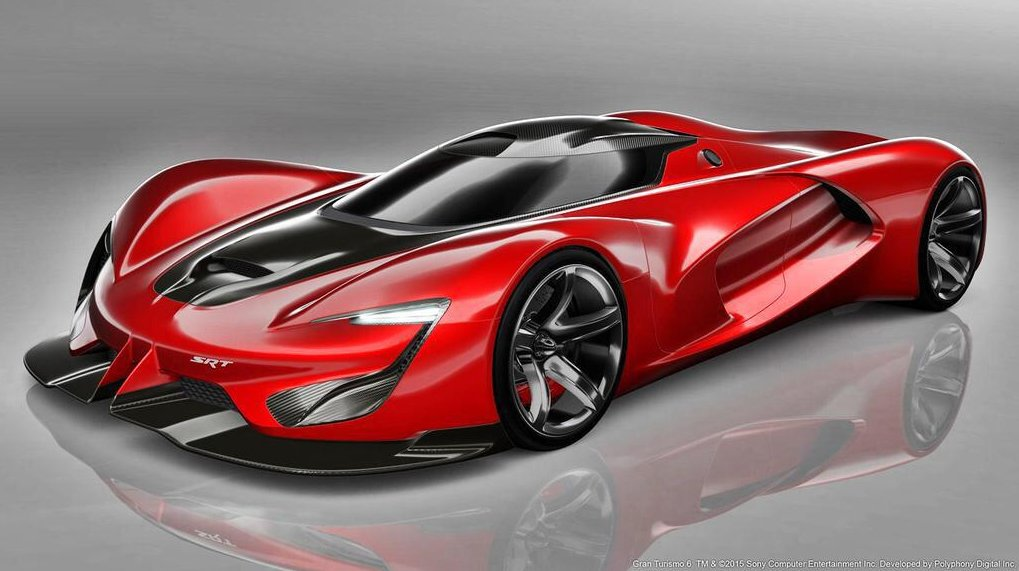 SRT Tomahawk Vision GT is a 2,590-HP Virtual Monster