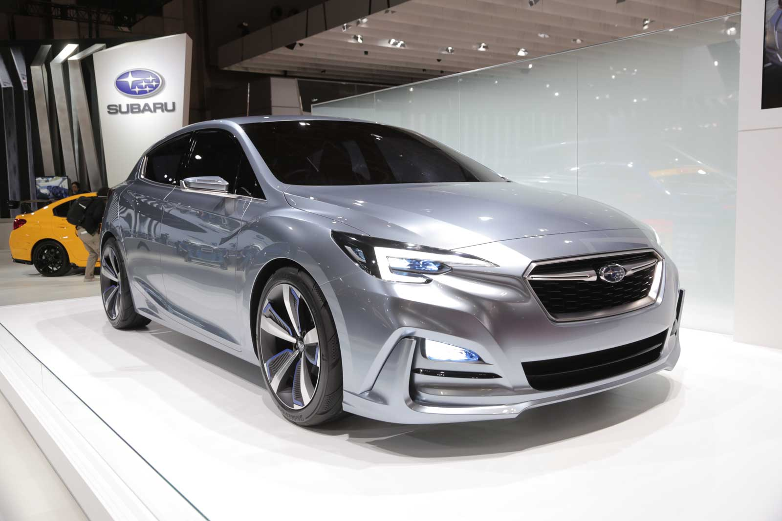 next subaru impreza previewed by new concept. Black Bedroom Furniture Sets. Home Design Ideas