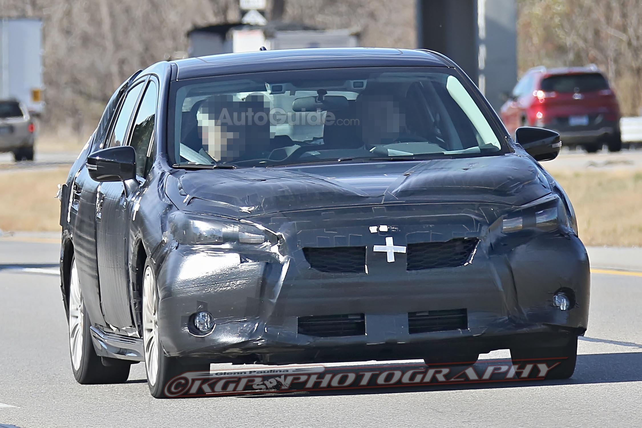 2017 subaru impreza hatchback and sedan spied testing news. Black Bedroom Furniture Sets. Home Design Ideas