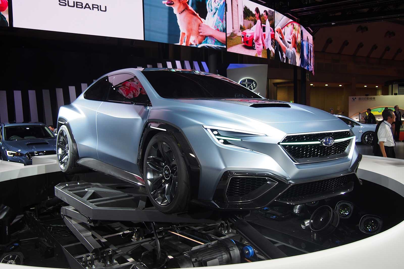 Subaru Viziv Concept Signals The Future Of The Impreza