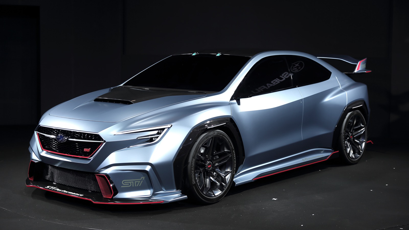 Subaru Viziv Performance Sti Concept Is Awesome But Don T