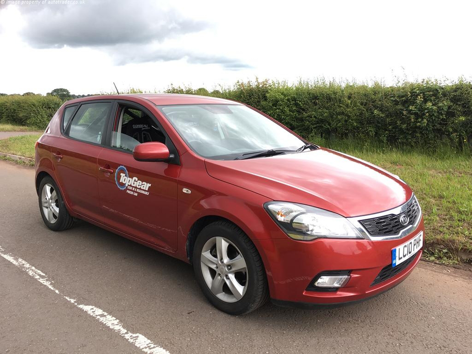 top gear s old reasonably priced kia is for sale