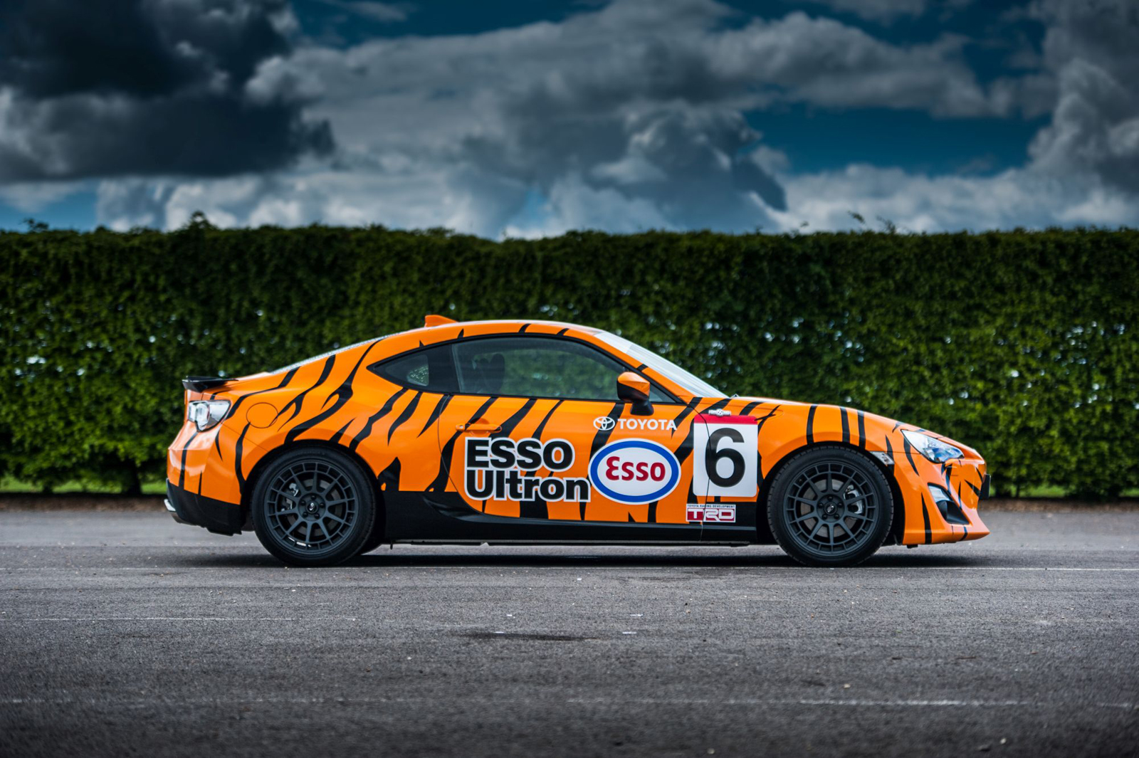 Toyota 86 Livery >> Toyota Gt86 Goes Retro For Goodwood Festival Of Speed